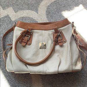 I Medici Firenze all leather purse